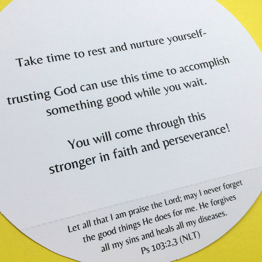 Get Well Scripture Quotes: Christian Get Well Card Uniquely Designed To Inspire Faith