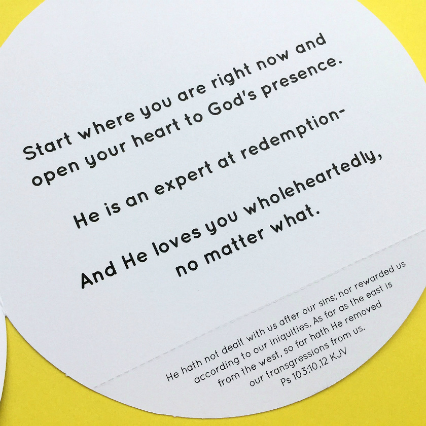 Greeting card with bible verse about second chances and forgiveness bible verse about forgiveness inside christian encouragement card m4hsunfo