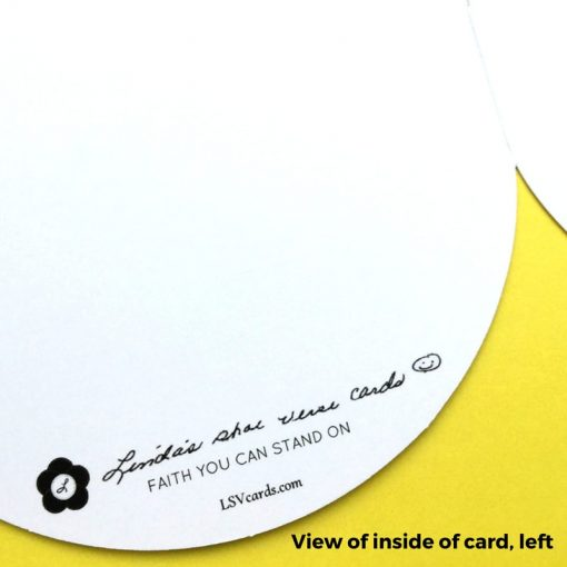 View of inside left of each card